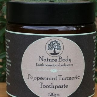 Peppermint Turmeric Toothpaste