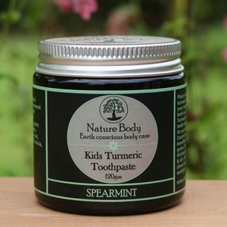 Spearmint Turmeric Toothpaste for Kids
