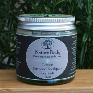 Lemon Turmeric Toothpaste for Kids