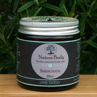 Unscented Natural Sunscreen