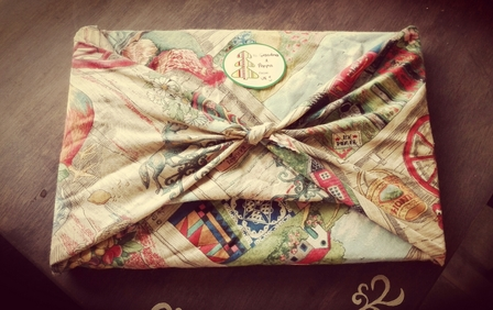 Cloth Gift Wrapping