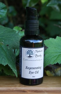 Organic Regenerating Eye Oil