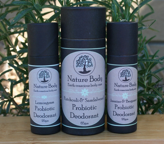 Natural Probiotic Deodorants